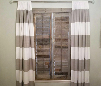 Reclaimed Wood Shutters Product In Jacksonville