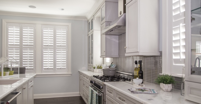 Jacksonville kitchen white shutters