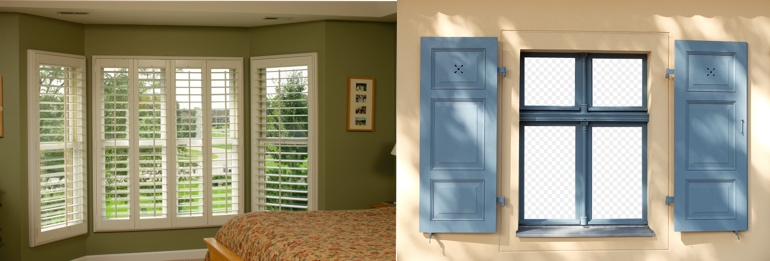 Jacksonville FL indoor and outdoor shutters