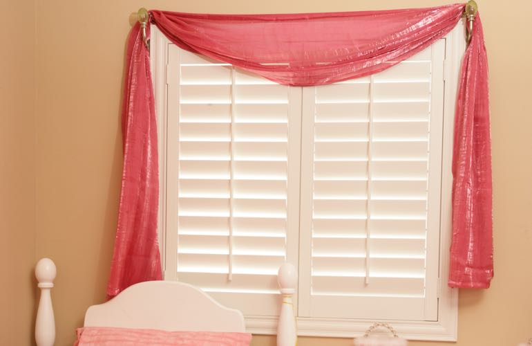 Privacy Protecting Window Treatments For Children S Bedrooms Room With Plantation Shutters