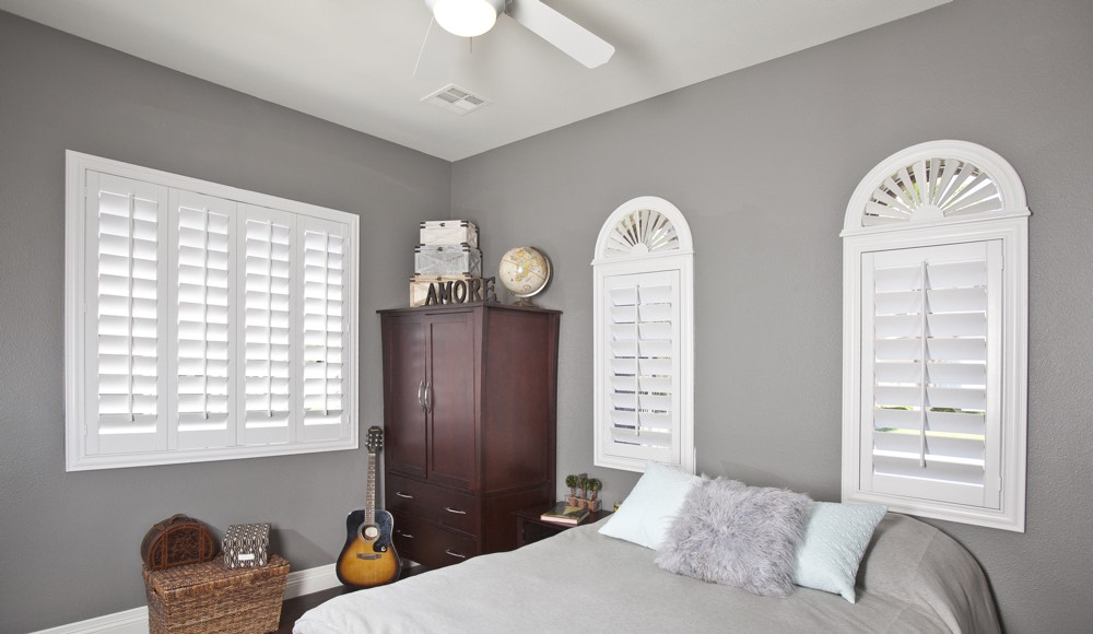 Polywood Shutters In A Jacksonville Bedroom