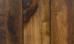 Stain and glaze finish for rustic sliding barn doors
