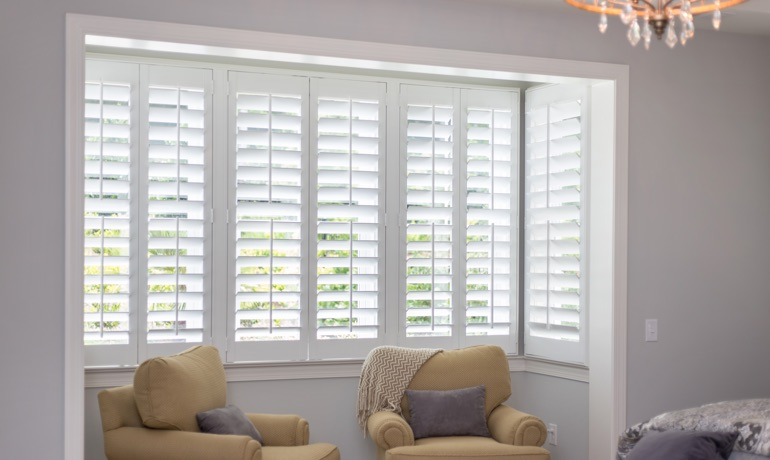 Classic shutters in Jacksonville nook