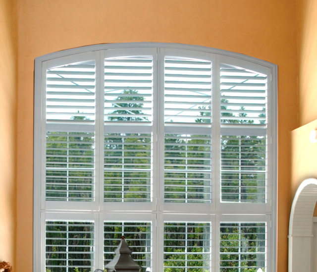 Arched Window Shutters In Jacksonville, FL
