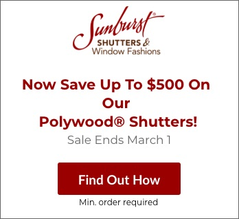 Sale on Jacksonville Polywood Shutters