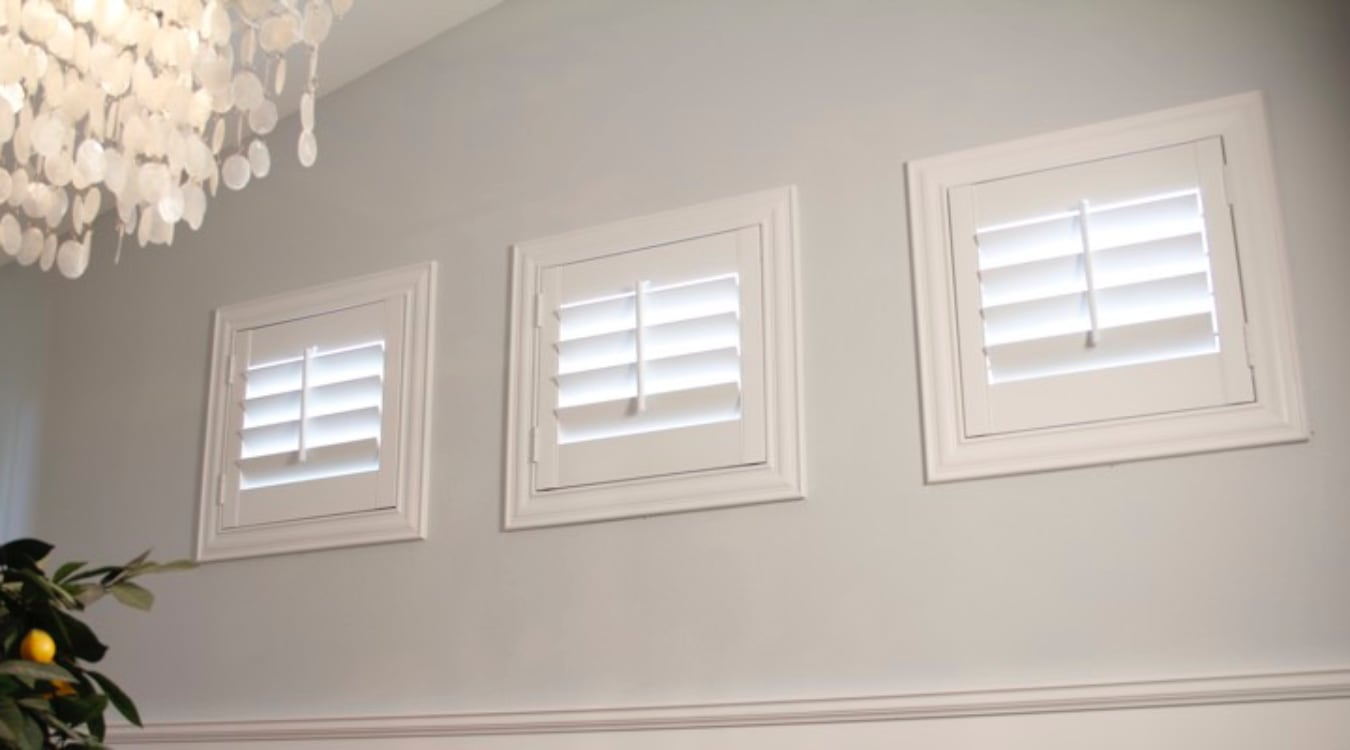Jacksonville small window shutters