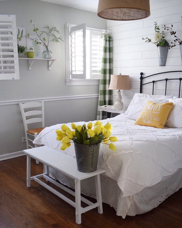 Jacksonville cottage bedroom shutters