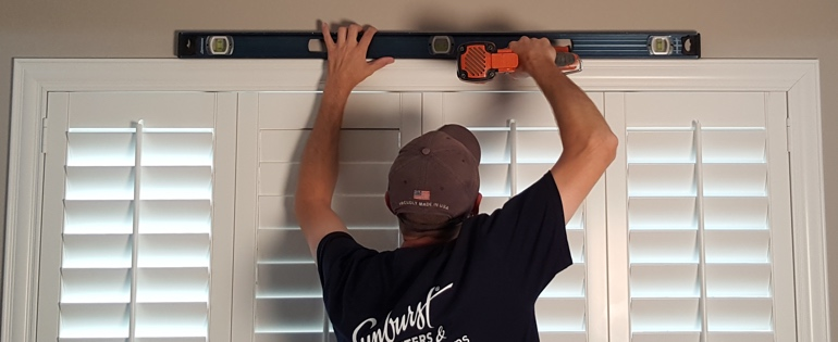Jacksonville shutter installer window measuring