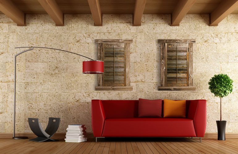 Hottest Window Treatment Trends In Jacksonville: Reclaimed Wood Shutters